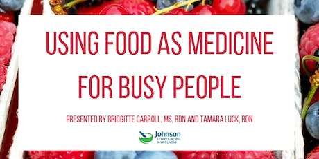 Using food as medicine  for Busy People tickets
