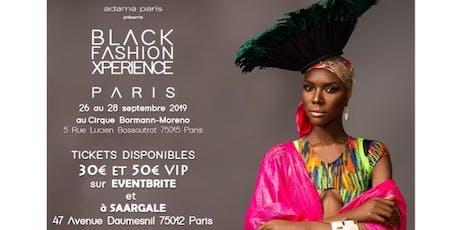 Black Fashion Xperience Paris billets
