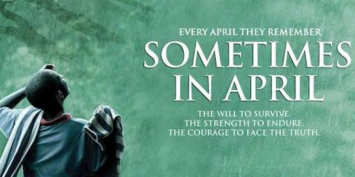 FILM SCREENING : Sometimes in April
