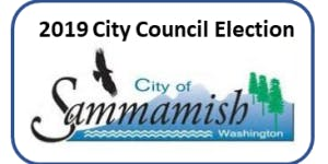 Sammamish City Council Candidate Forum - for Sahalee and Timberine Communities