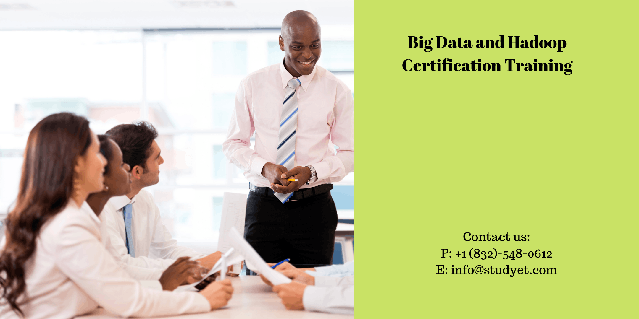 Big Data & Hadoop Developer Certification Training in Charlottesville, VA