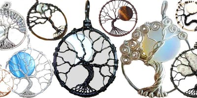 Tree of Life Moon Wire Wrap Jewelry Workshop with Marggi at Ipso Facto