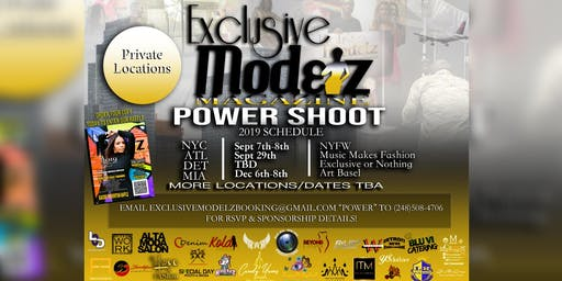 Exclusive Modelz Magazine Power Shoot