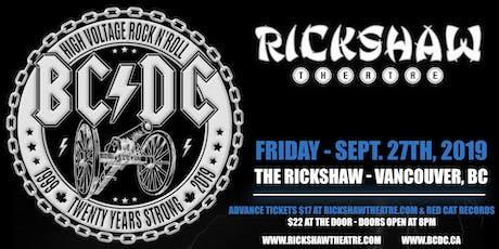 BC/DC with Ham Wailin', Big Brown Beaver tickets