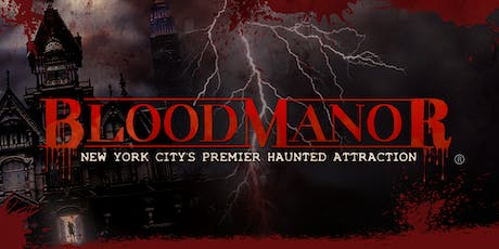 BloodManor 2019 - Tuesday, October 22nd tickets