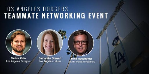 2019 Los Angeles Dodgers Teammate Networking Event