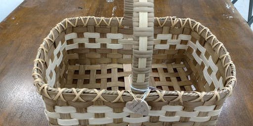 Basket Weaving with Faye George Greiner