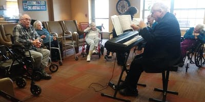 BIG TABLE bringing music and art to seniors and those with dementia and alzhiemer's