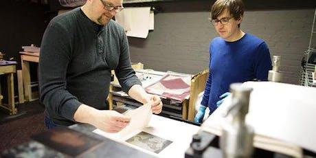 Metal-Plate Engraving Workshop tickets