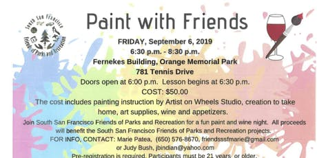 Paint With South San Francisco Friends of Parks and Recreation tickets