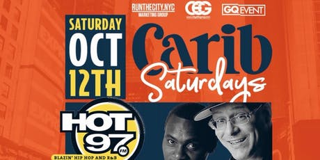 Carib Saturdays Columbus Day Weekend @ SOB's #GQevent tickets