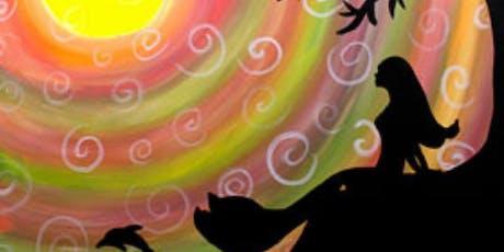 Paint and Sip Tea Tonasket: Mythical Mermaid tickets