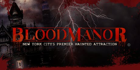 BloodManor 2019 - Monday, October 28th tickets