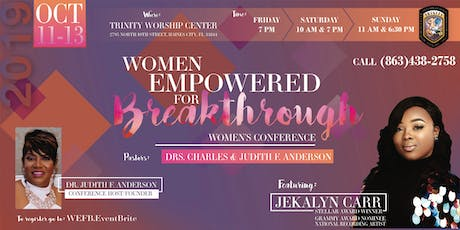 Women Empowered for Breakthrough Conference   October 11th-13th 2019 tickets