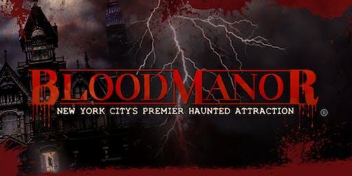 Blood Manor 2019 - Thursday , October 31st