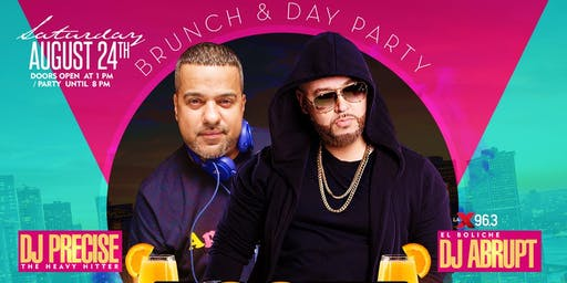 Boozy Brunch Saturdays Day Brunch & After Party