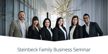 Steinbeck Family Business Seminar: Women Leaders in Family Enterprises: Forget Balance, It's all about playing Jenga tickets