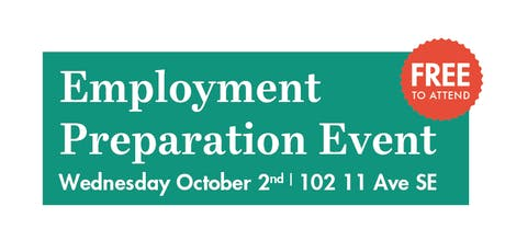 Employment Preparation Event tickets