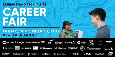 event image Lesbians Who Tech + Allies New York 2019 Career Fair and Mentoring