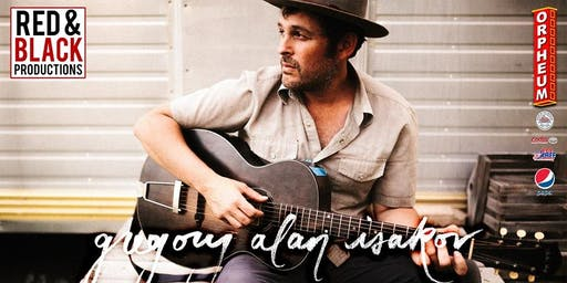Gregory Alan Isakov at The Orpheum Theater