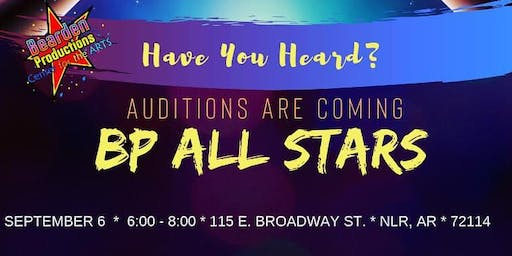 BP All Stars Auditions