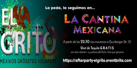 Afterparty: El Grito de Viva México tickets