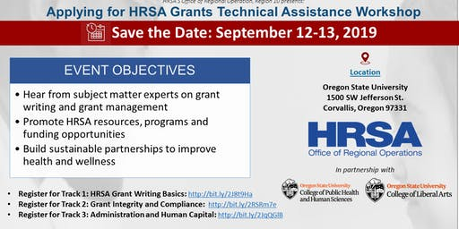 Oregon Grant Technical Assistance Workshop: Track 3 - Administration and Human Capital