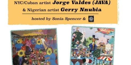Chicago Debut: Artist-Jorge Valdes-NYC/Cuba (JAVA) & Gerry Nnubia-Nigeria tickets