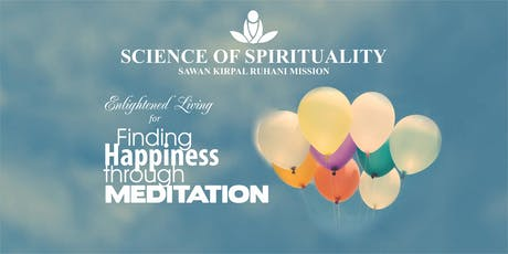 Finding Happiness Through Meditation tickets