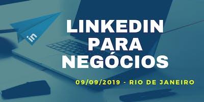 LINKEDIN PARA NEGÓCIOS - RIO DE JANEIRO
