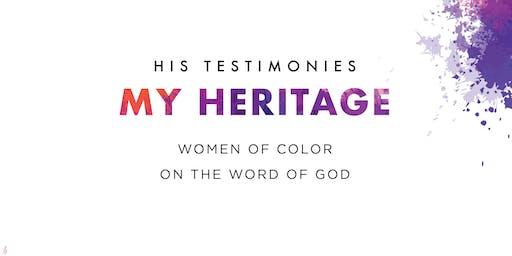 #HisTestimoniesMyHeritage Book Launch Event