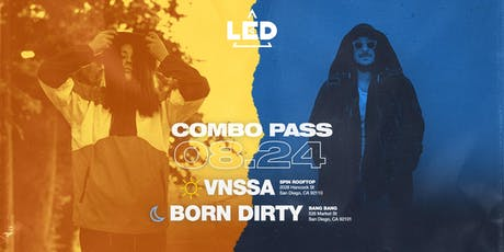SPIN ROOFTOP TO BANG BANG COMBO TICKETS: VNSSA + LUKE ANDY + BORN DIRTY tickets