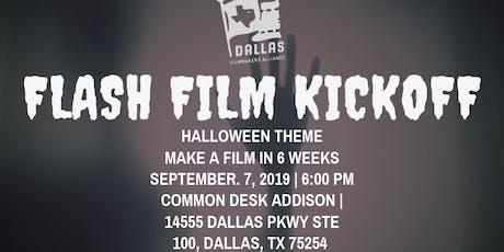 Flash Film Kickoff - Halloween Theme tickets