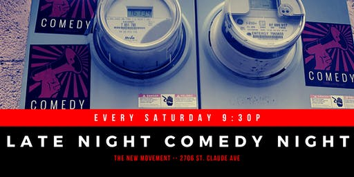 Late Night Comedy Night in New Orleans