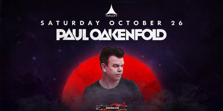 Avalon Presents: Paul Oakenfold tickets