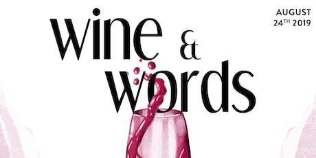 Wine & Words tickets