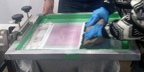 Screen Print Tea Towels Workshop tickets