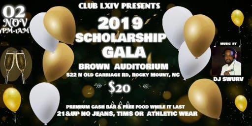 CLUB LXIV 2019 SCHOLARSHIP GALA