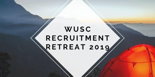 WUSC Recruitment Retreat 2019