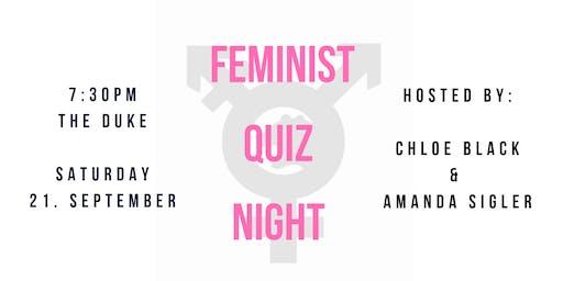 Feminist Quiz Night