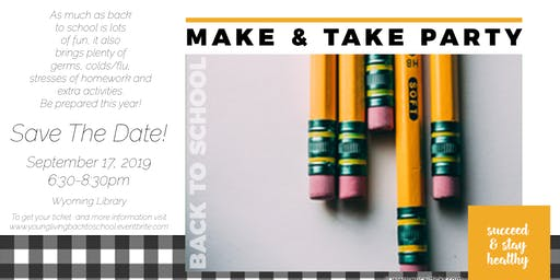 Back to School Make & Take with Young Living Essential Oils