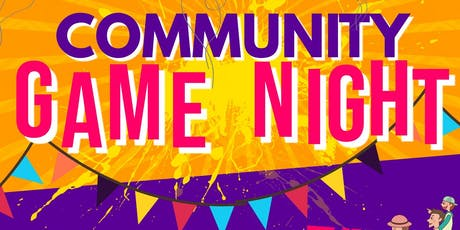 SAVE the DATE Community Game Night tickets