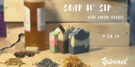 Soap n' Sip with Judith Yisrael tickets