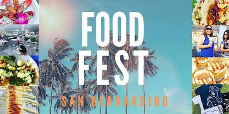 SB FoodFest tickets