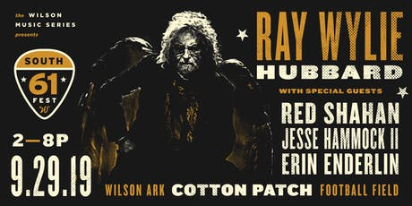 61 South Music Fest – Featuring Ray Wylie Hubbard tickets