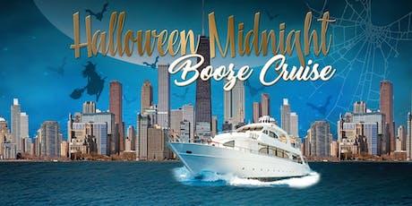 Halloween Midnight Booze Cruise on October 26th aboard Odyssey tickets
