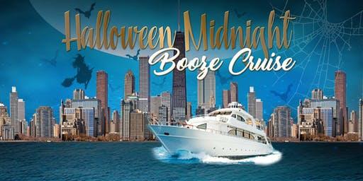 Halloween Midnight Booze Cruise on October 26th aboard Odyssey