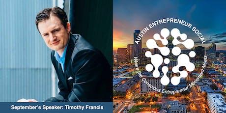 Austin Entrepreneur Social - September tickets