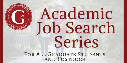 Academic Job Search Series