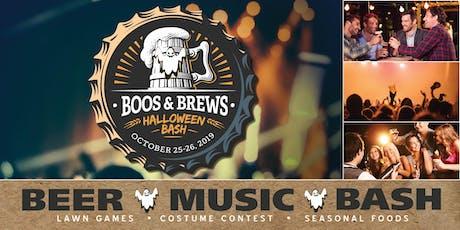 Boos & Brews Halloween Bash tickets
